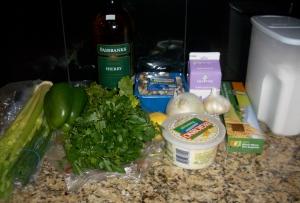 The ingredients...